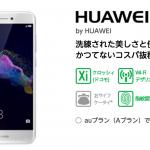 HUAWEI nova liteをマイネオ(mineo)で買うときの写真