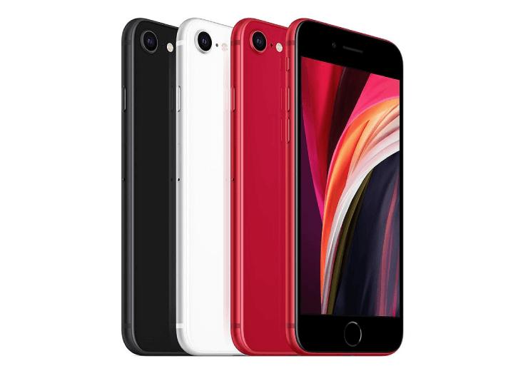 2020年版iPhone SEの本体の画像